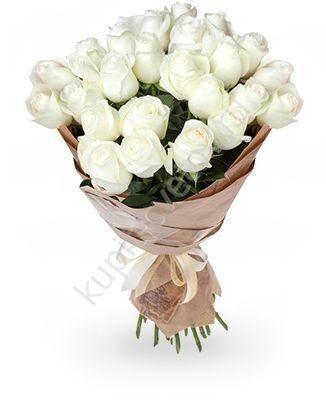 Купить розы в спб белые